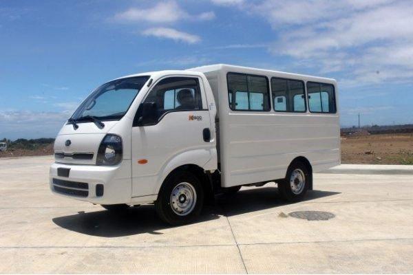 A picture of the Kia karga