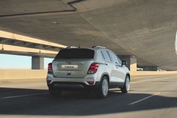 A picture of the rear of the Chevrolet Trax