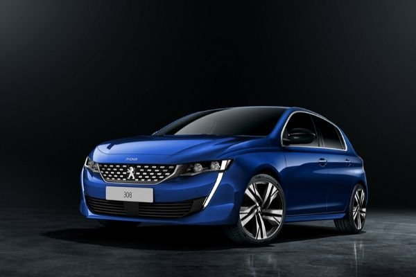 A picture of the 2021 Peugeot 308 render