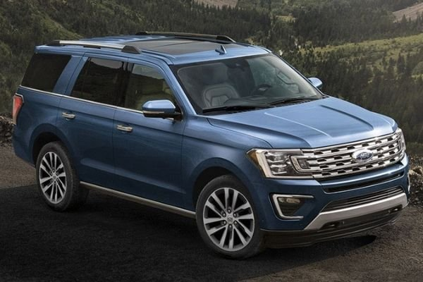 Ford Expedition exterior look