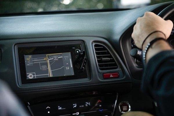 GPS on car