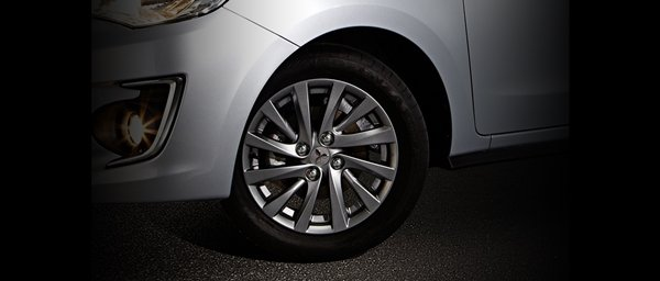Mirage G4 alloy wheels