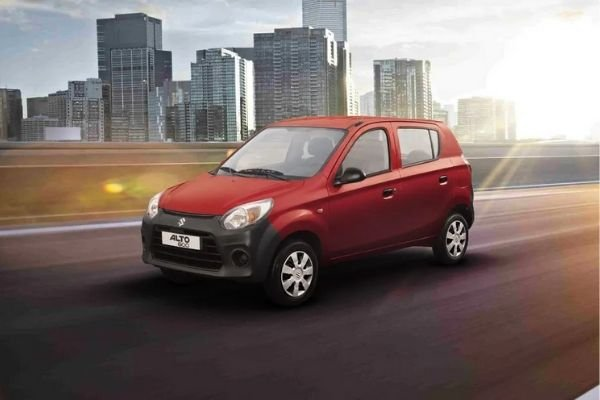 A picture of the Suzuki Alto