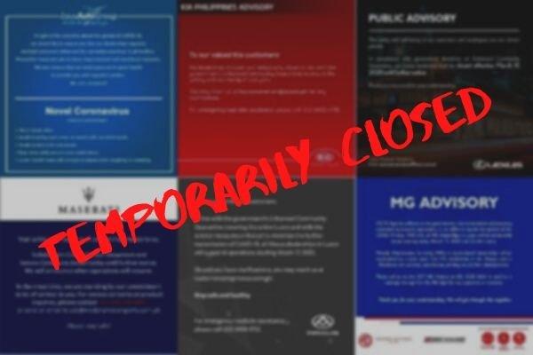 Public advisory of car brands