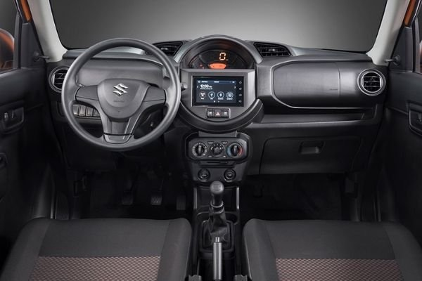 A picture of the Suzuki S-Presso dashboard