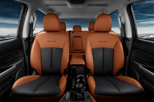 Seats of the Mitsubishi Strada Athlete 2020