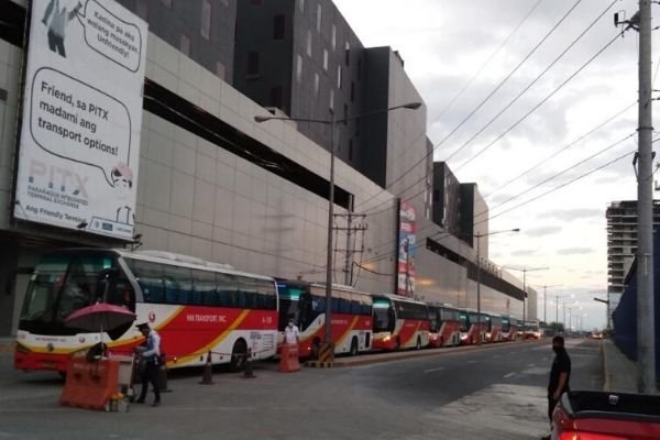 buses at pitx