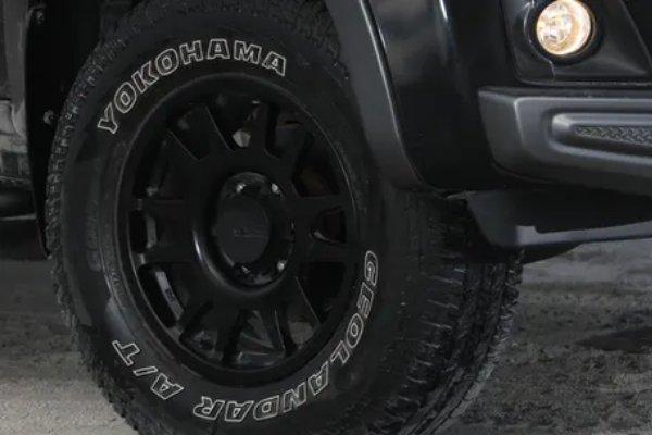 Wheel and Tire of Isuzu D-MAX Boondock