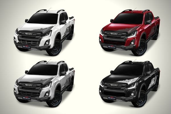 Color choices for the new D-MAX Boondock
