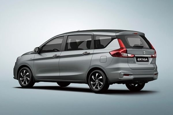 A picture of the rear of the Suzuki Ertiga