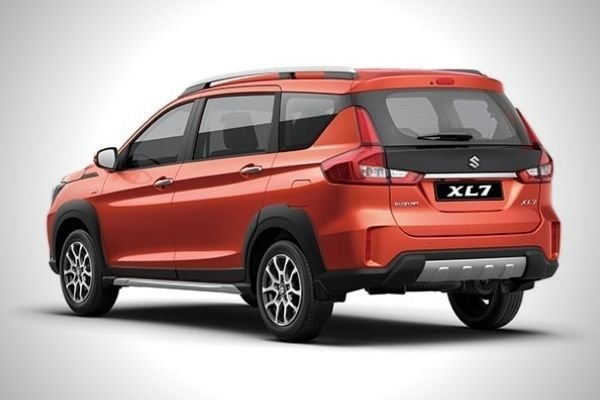 A picture of the XL 7's rear