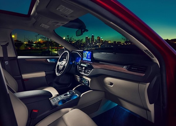 Ford Escape 2020 interior