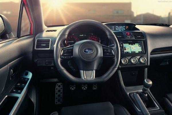 A picture of the 2020 Subaru WRX's interior