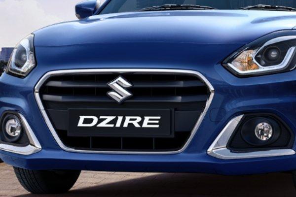 Front Fascia of Suzuki Dzire