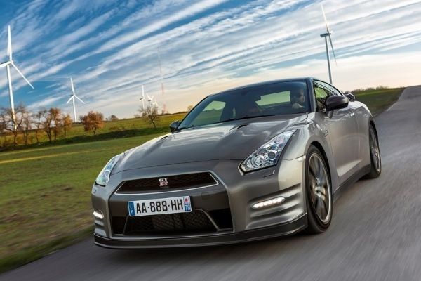 A picture of the Nissan GT-R R35