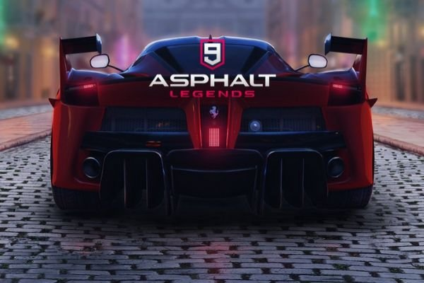 A picture of the Asphalt 9 loading screen