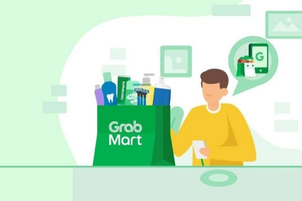 A picture of the GrabMart logo