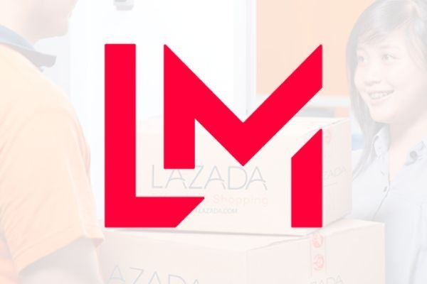 A picture of the LazMall logo