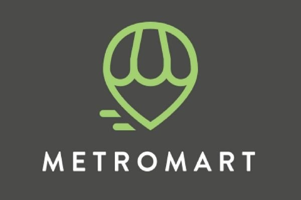 A picture of the MetroMart logo