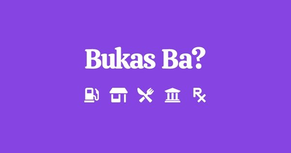 A picture of the Bukas Ba? website logo