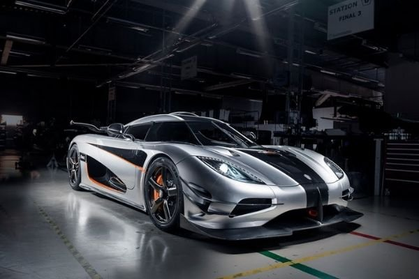 A picture of the Koenigsegg One:1