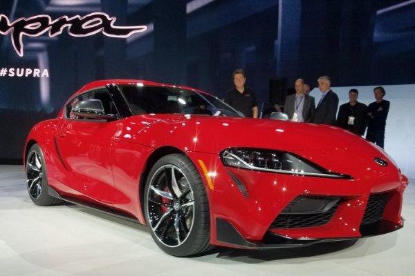 2020 Toyota Supra in 2019 Detroit Auto Show