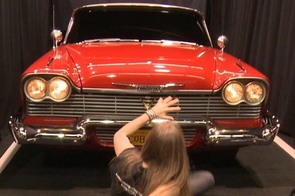 A picture of the titular Christine