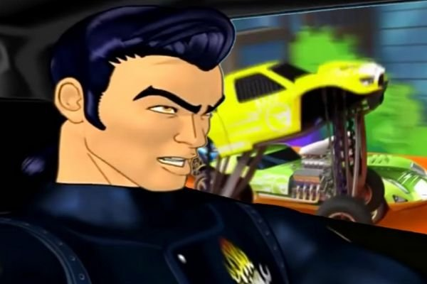 A picture of Taro Kitano in AcceleRacers