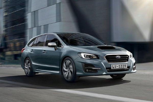 Subaru Levorg on a city drive