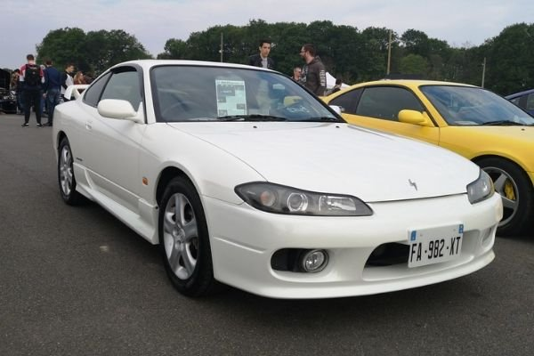 A picture of a fresh Nissan Silvia