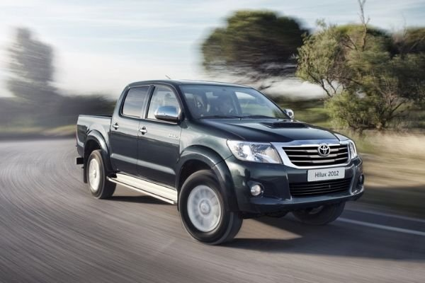 A picture of a Toyota Hilux