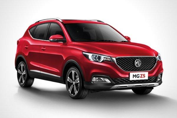 MG ZS image