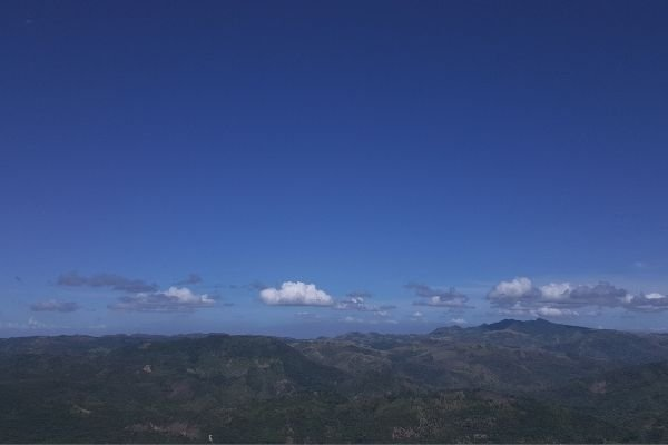 A picture from the top of Mt. Daraitan