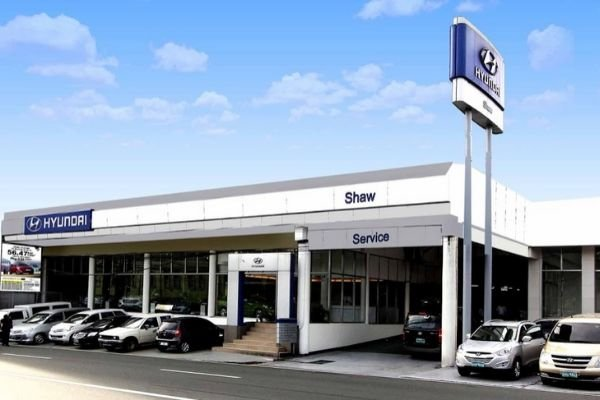A picture of the Shaw Hyundai Dealership