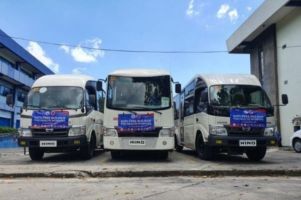 A picture of Hino PUVs