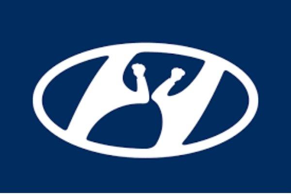 Hyundai social distancing logo