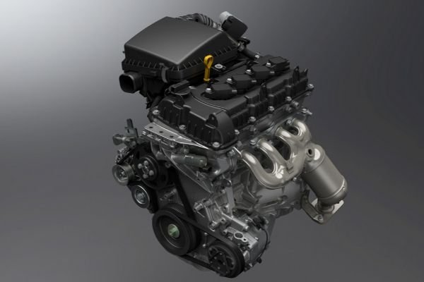 A picture of the K15B which is used by the locally available Ertiga and the Suzuki XL7