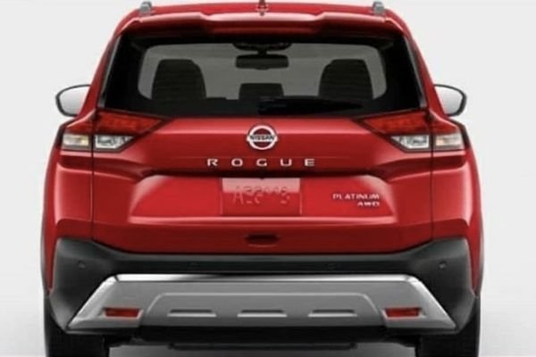 A picture of the Rouge's rear end