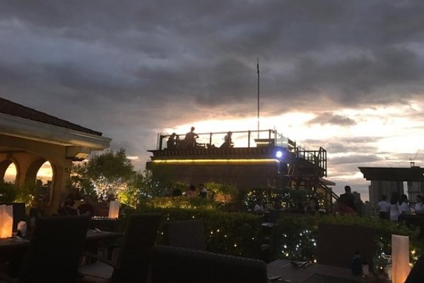 The Sky Deck at The Bayleaf Hotel