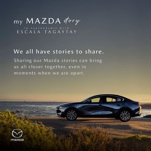 A picture of the My Mazda Story Facebook post