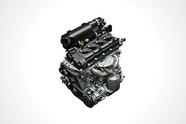 Engine of the 2020 Suzuki Ertiga