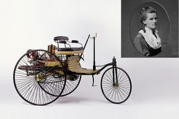 Bertha Benz and Patent Motorwagen
