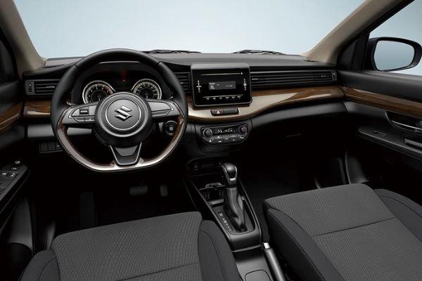 A picture of the interior of the Suzuki Ertiga