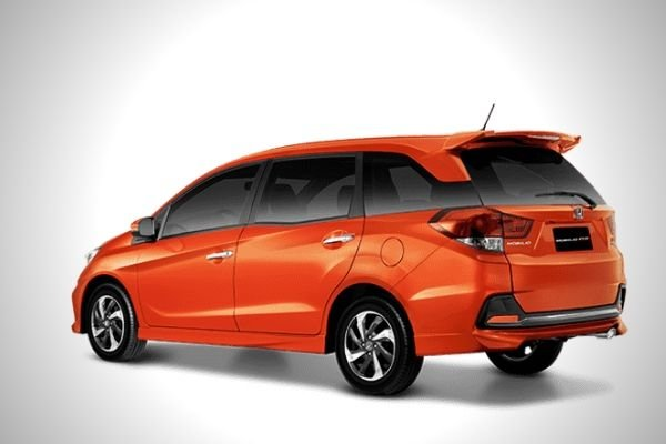 A picture of the rear of the Honda Mobilio