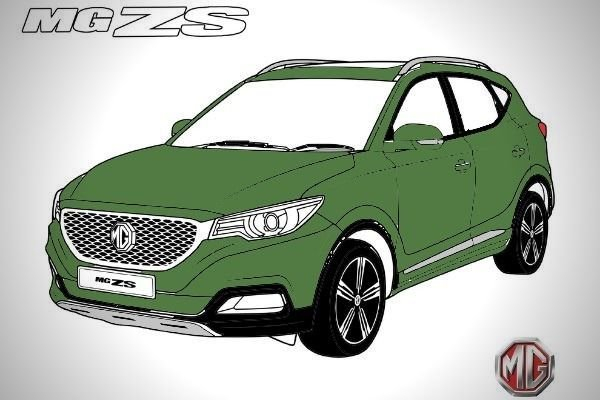 A picture of C.G.B.M.'s bad attempt at coloring an MG ZS