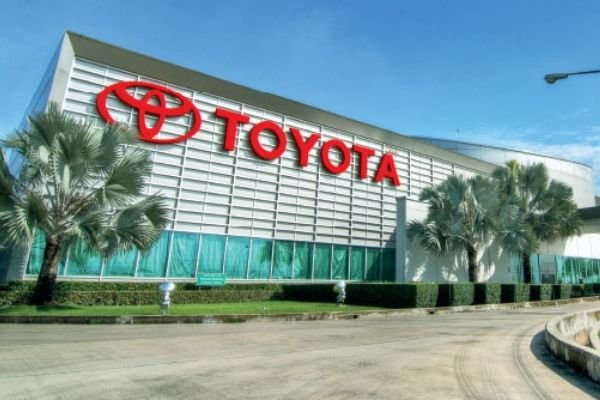 A picture of the Toyota headquarters in Thailand