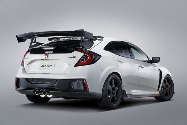 Back view of the Honda Type R