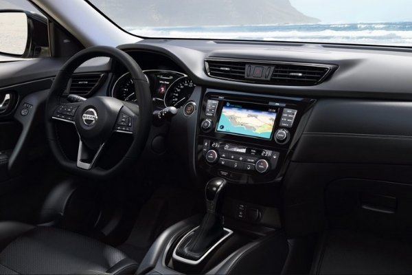 Infotainment System of the Nissan X-Trail