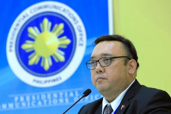 A picture of Atty Harry Roque, Presidential spokesperson