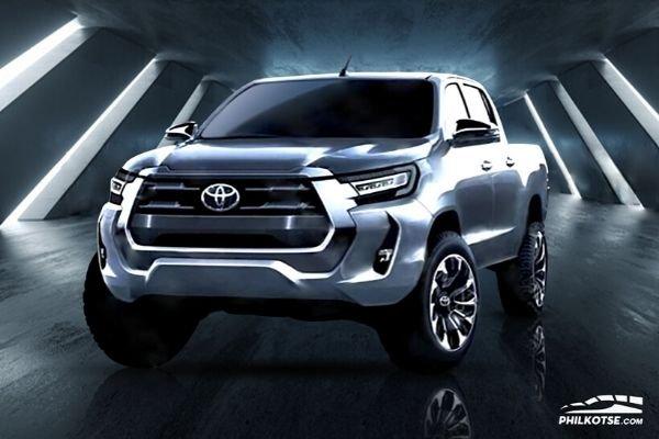 2021 Toyota Hilux render